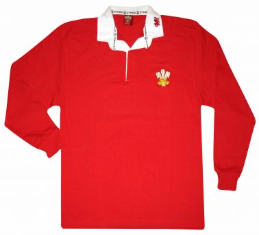 Wales Rugby Retro Shirt