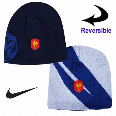 France FFR Rugby Reversible Beanie Hat by Nike