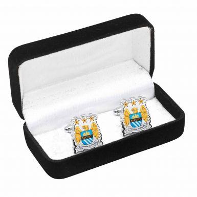 Manchester City Crest Cufflinks