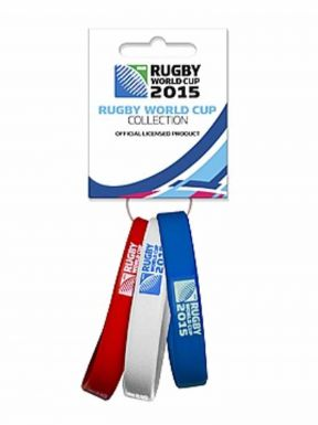 Rugby 2015 World Cup Wristbands