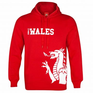 Wales Cymru Flag Hoodie for Leisurewear