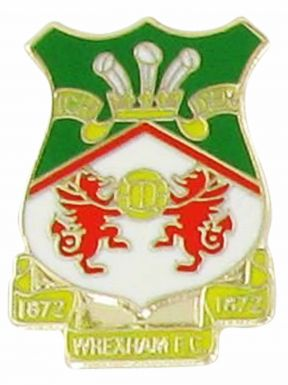 Wrexham FC Crest Pin Badge