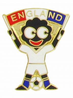 England Golly Pin Badge