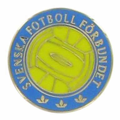 Sweden Football Crest Pin Badge