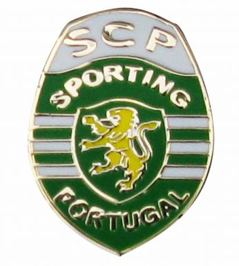 Sporting Lisbon Crest Pin Badge