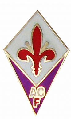 ACF Fiorentina Football Crest Pin Badge