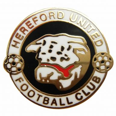 Hereford United Crest Pin Badge