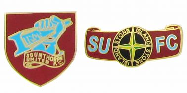 Scunthorpe United Pin Badge Set