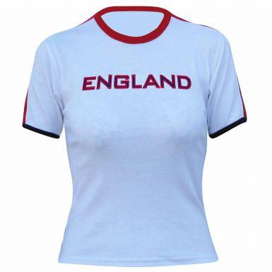 Ladies England Skinny Fit T-Shirt