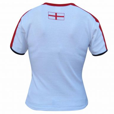 Ladies England Skinny Fit T-Shirt