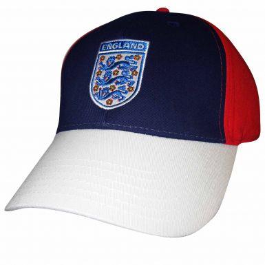 England 3 Lions Crest Baseball Cap