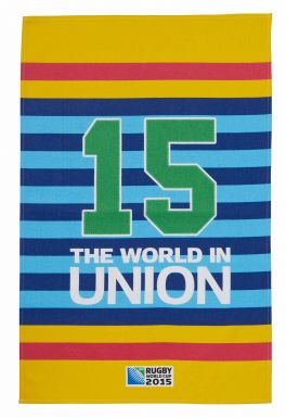Official Tea Towel for 2015 Rugby World Cup