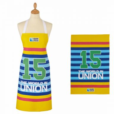 Rugby 2015 World Cup Apron & Tea Towel Set