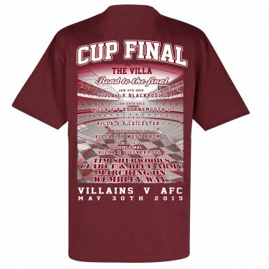 Aston Villa 2015 FA Cup Final T-Shirt