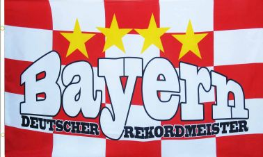 Bayern Munich Champions Flag