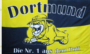 Giant Borussia Dortmund Football Flag