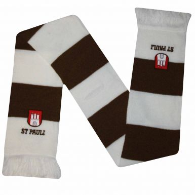 St Pauli Football Crest Bar Scarf