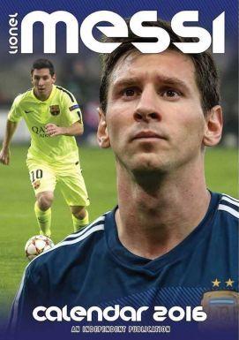 FC Barcelona & Lionel Messi 2016 Soccer Calendar