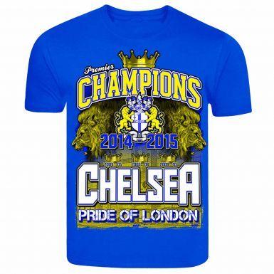 Chelsea 2015 Premier League Champions T-Shirt