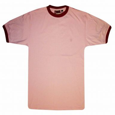 Casual Ringer Style T-Shirt for Leisurewear