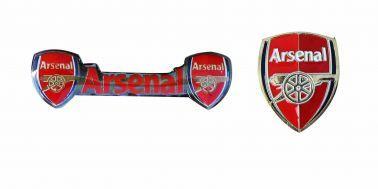Arsenal FC Crest Pin Badge Set