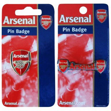 Arsenal FC Crest Pin Badge Set