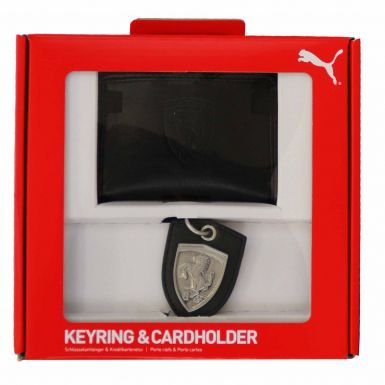 Ferrari Scuderia F1 Racing Keyring & Card Holder Set