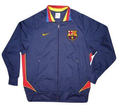 FC Barcelona FCB Crest Zipped Tracktop