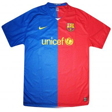 FC Barcelona Crest Replica Shirt by Nike