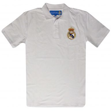 Real Madrid Crest Polo Shirt
