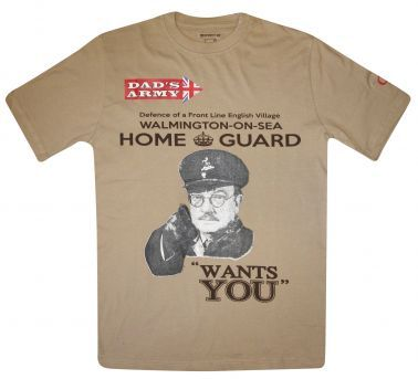 Dad's Army Capt Mainwaring Home Guard T-Shirt
