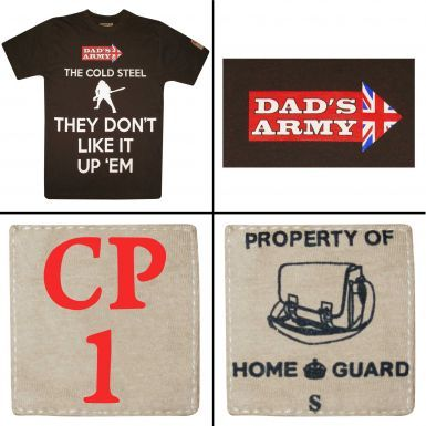 Dad's Army Corporal Jones Don't Don't Like It Up Em T-Shirt
