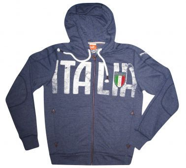 Italy Football Zipped Hoodie by Puma