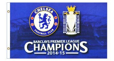 Chelsea FC 2015 Premier League Champions Flag