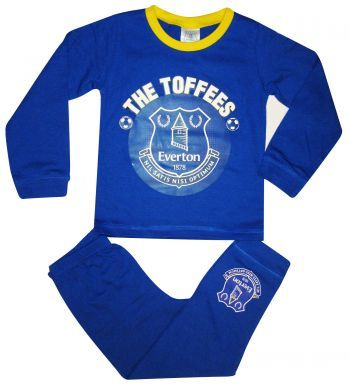 Official Everton FC Kids Pyjamas
