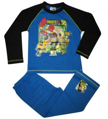 Kids BEN 10 Top & Bottoms Pyjamas Set