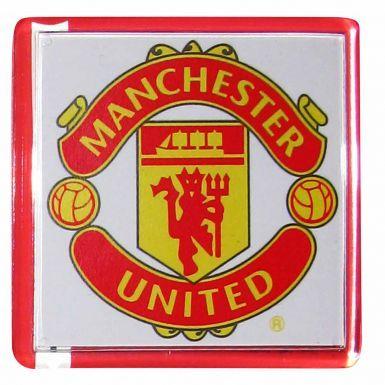 Manchester Utd Crest Fridge Magnet