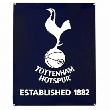 Tottenham Hotspur Spurs Crest Metal Sign