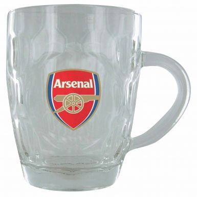 Arsenal FC Crest Dimple Pint Glass