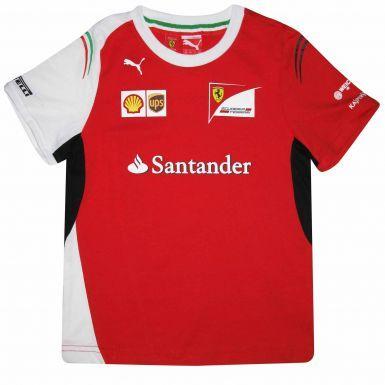 F1 Ferrari Scuderia Kids T-Shirt by Puma