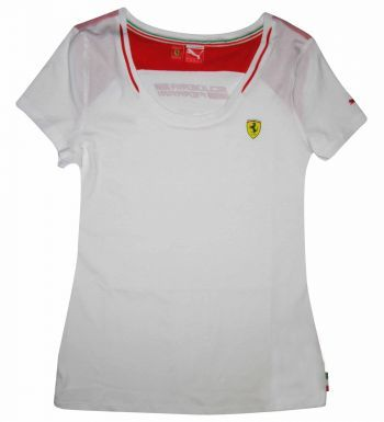 Ladies F1 Ferrari Scuderia T-Shirt by Puma