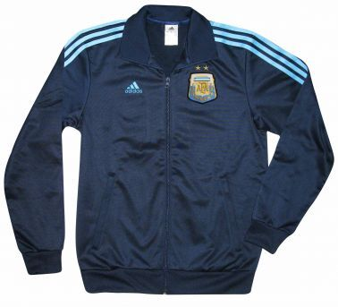 Argentina Football Zipped Jacket by Adidas