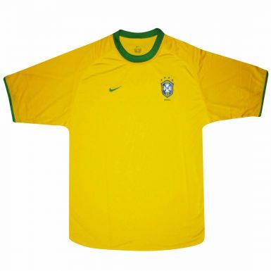 Brazil Replica Football Shirt by Nike