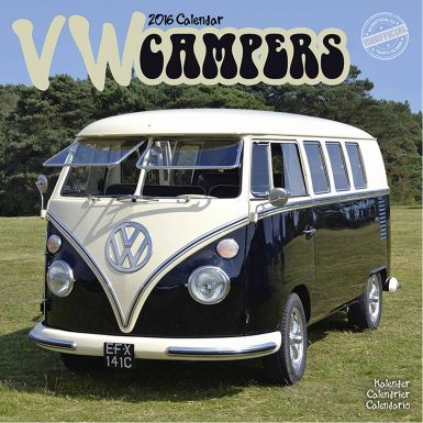 VW Campervan 2016 Calendar for 16 Months