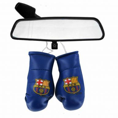 FC Barcelona Crest Mini Boxing Gloves