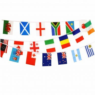 2015 Rugby World Cup 6M Bunting for 20 Nations