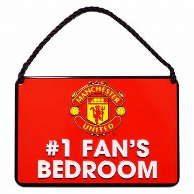 Manchester Utd No.1 Fan Metal Sign