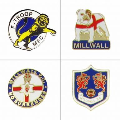 Millwall Bushwackers Badges