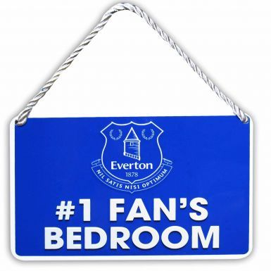 Everton FC No.1 Fan Metal Sign