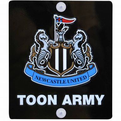 Newcastle United Crest Metal Sign